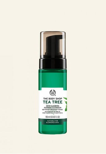 The Body Shop Tea Tree Skin Clearing Foaming Cleanser TH455BE32SZJMY_1