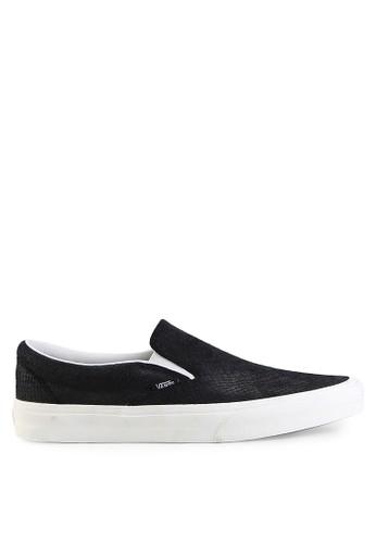 Vans black Ua Classic Slip-On VA142SH0UQ4QID_1