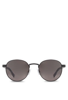 a6858f5e89 Boss Orange black Lightweighted Pantos Metal Sunglasses BO434GL60RQPMY 1