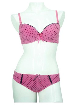 Bra Set : A-CUP : Medium Padding