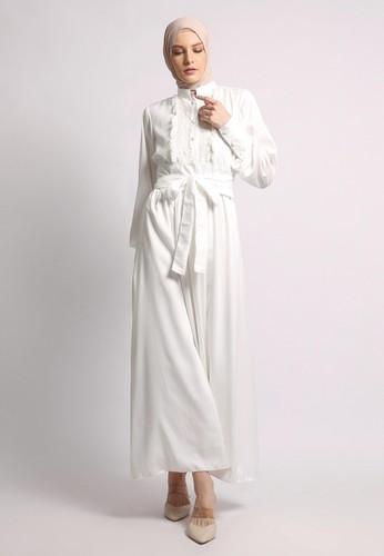 Yumnasa.id white Yumnasaid GARBERA Dress 894F2AA7620415GS_1