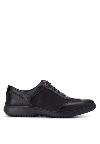 Rockport black Dp2 Fast T-Toe Smart Casual Shoes 573CCSH6CCC7C3GS_1