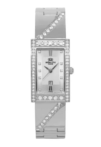 Roscani silver Roscani Rosemary B75 (Curved Crystal + Platinum Plating) Platinum Bracelet Women Watch 5F4D6AC34AB0C6GS_1