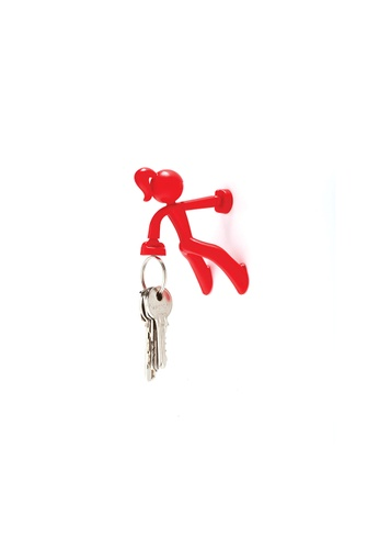 Peleg Key Petite Magnetic Key Holder (Red) 00DEBHL50ACF8FGS_1