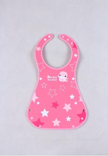 kukuduckbill pink Kuku Duckbill -Roll Up Bib Ku2247-Pink C8B14KC32EA2AFGS_1