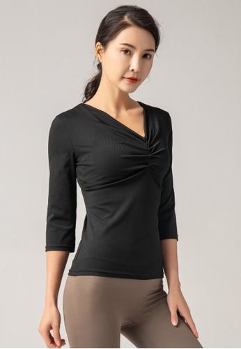 HAPPY FRIDAYS Women's Yoga Short Sleeve Tees DK-TX12 14E64AAFA68659GS_1