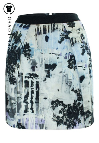 Markus Lupfer multi Pre-Loved markus lupfer Multicolor Print Mini Skirt 67A03AA09A8539GS_1