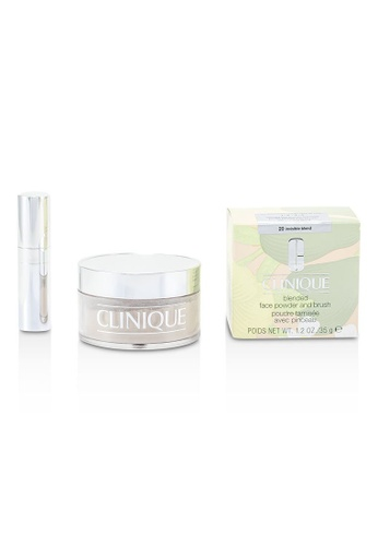 Clinique CLINIQUE - Blended Face Powder + Brush - No. 20 Invisible Blend 35g/1.2oz 584E8BE71834CFGS_1