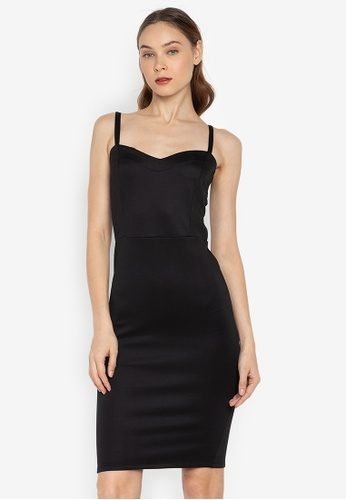 0f2bf2013aada2 Shop F.101 Spaghetti Bodycon Dress Online on ZALORA Philippines