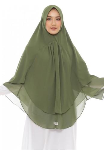LAV INDONESIA green Khimar Hijra 476F4AA71B473BGS_1