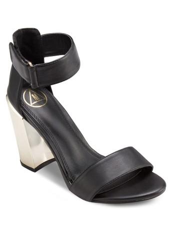 金屬粗esprit台灣門市跟涼鞋, 女鞋, 鞋