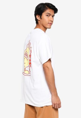 Mennace 白色 短袖T恤 EE0E9AA32C5E70GS_1