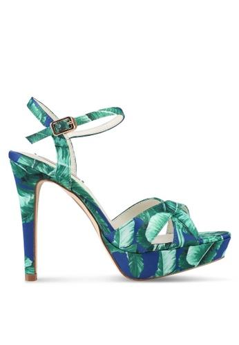 VINCCI multi and navy Strappy Heels 59B1DSH6904A5CGS_1