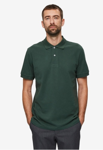 Selected Homme green Neo Polo Shirt 46C80AAD6830D4GS_1