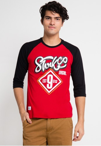 SHARKS red Long Sleeve T-Shirt SH473AA0UX3OID_1
