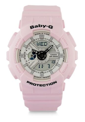 Baby-G pink Women Analog Watches Ba-110Be-4Adr FF7F1AC58DE61EGS_1