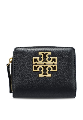 TORY BURCH black Britten Mini Wallet (NT) ADDECACA11955CGS_1