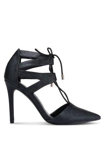 Something Borrowed black Cut Out Pointed Heels C50E3ZZEFEDDB9GS_1