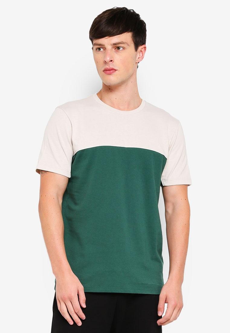 Green Topman Handle Stone Shirt T Green and WvXZAqZY