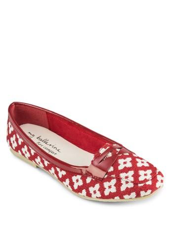Petunia zalora taiwan 時尚購物網織花樂福鞋, 女鞋, 鞋