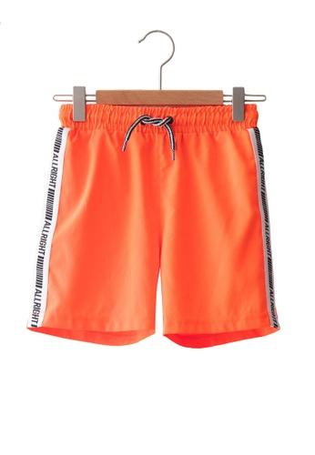 LC Waikiki orange Quick Drying Boy's Swim Shorts 308A8KA96850B2GS_1