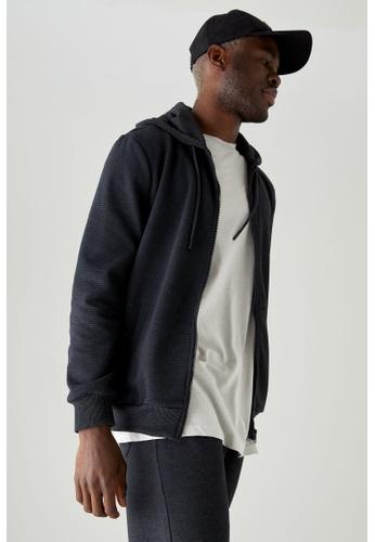 DeFacto grey Man Knitted Cardigan 6812FAA6241E2DGS_1