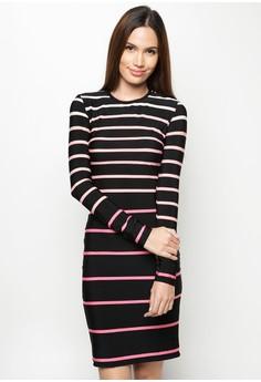 Glei Striped Dress