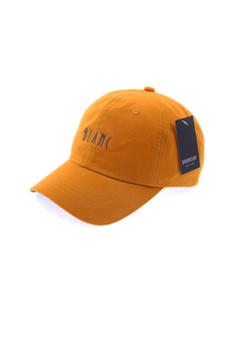 M-Wanted orange M.Blanc Baseball Cap 000EBAC58C88E7GS_1