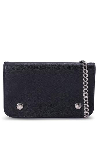 LONGCHAMP 黑色 Le Foulonné Long Flap Wallet (zt) 3C4A0ACCD3A758GS_1