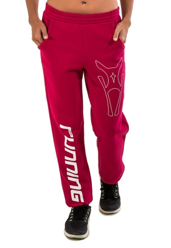 AMNIG pink AMNIG PANTS 'RUNNING' (PINK) AM133AA41MBYMY_1