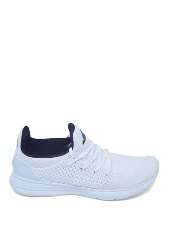 ACCEL white RN Ryden Running Shoes C3220SHF452319GS_1