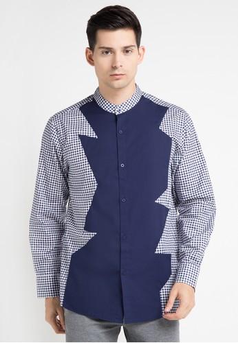 (X) S.M.L multi Chale Shirt XS330AA0WE92ID_1