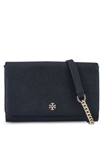 TORY BURCH black Emerson Chain Wallet (NT) F5DA5AC9A14365GS_1