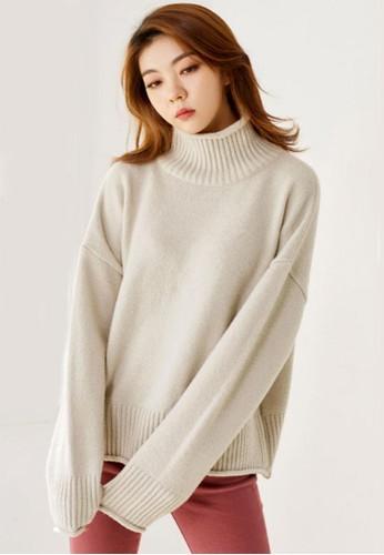 簡約寬鬆針織上衣, 服飾, 毛衣& 針織外esprit香港分店地址套