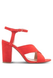 Dorothy Perkins orange Orange Spring Cross Over Heeled Sandals DO816SH29AZAMY_1
