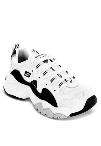 Skechers white D'Lites 3.0 - Zenway Sneakers 7CC70SH5D33636GS_1