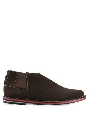 S.Baldo brown Adolfo Casual Boot Shoes SB324SH53UMOID_1