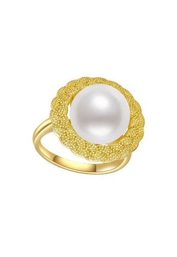 Pearly Lustre gold Pearly Lustre New Yorker Freshwater Pearl Ring WR00054 08535AC0C908E7GS_1
