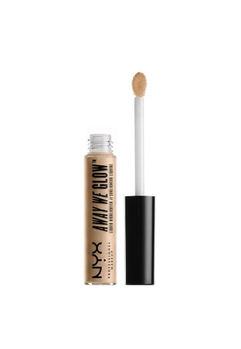 NYX Professional Makeup brown NYX Professional Makeup Away We Glow! Liquid Highlighter - DAYTIME HALO 7CE7BBE424D3D6GS_1
