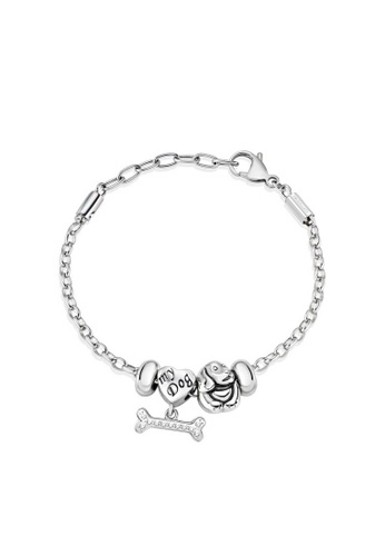 Morellato silver Drops Bracelet SCZ716 Stainless Steel Crystals FAC9BACF47B024GS_1