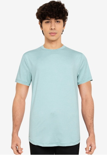 Abercrombie & Fitch blue Air Knit Crew T-Shirt 17196AADAE7A70GS_1
