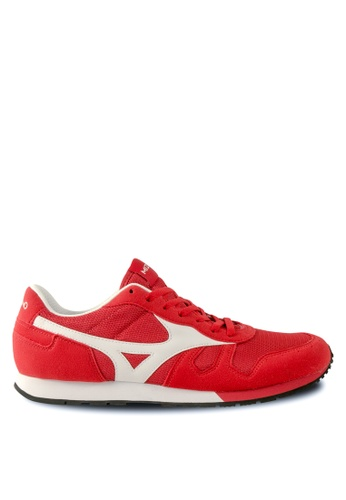 Mizuno red ML87-S Lifestyle Shoes MI461SH70EEBHK_1