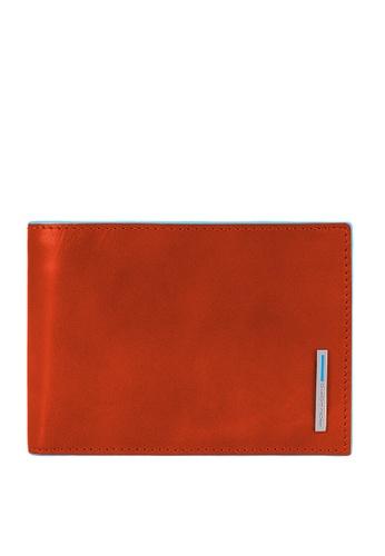 Piquadro orange Men's Wallet W Doc Holder PI261AC16WFVPH_1