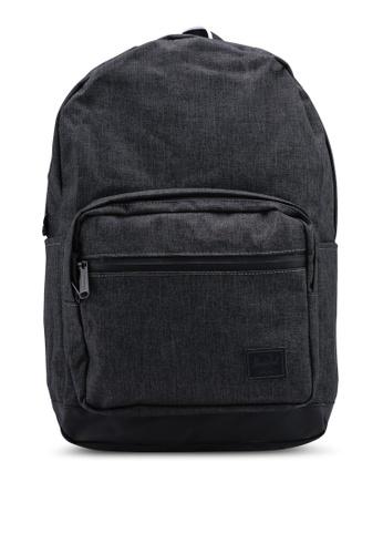 Herschel black Pop Quiz Backpack E59A1AC7F29CFCGS_1