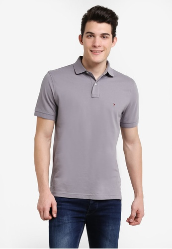 Tommy Hilfiger silver LUXURY PIQUE POLO S/S RF TO861AA0RUMQMY_1