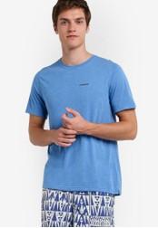 Patagonia blue Short Sleeve Nine Trails T-Shirt PA549AA29WZEMY_1