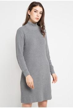 harga Knit Dress Turtleneck Zalora.co.id