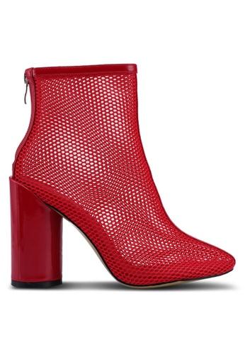 Public Desire red Under Boots 9D557SH1C05FCFGS_1