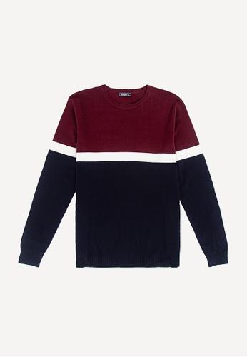FOREST red Forest Fancy Knitted Long Sleeve T Shirt Men Sweater Men Knitwear - Baju Sweater Lelaki Knitwear - 23190 - 56Maroon 19AC5AA7E66463GS_1