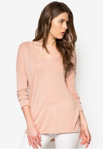 Fine-Knit T-Shirt,zalora 包包評價 服飾, 服飾